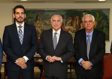 Marcos Aurélio Sampaio participa de audiências em Brasília