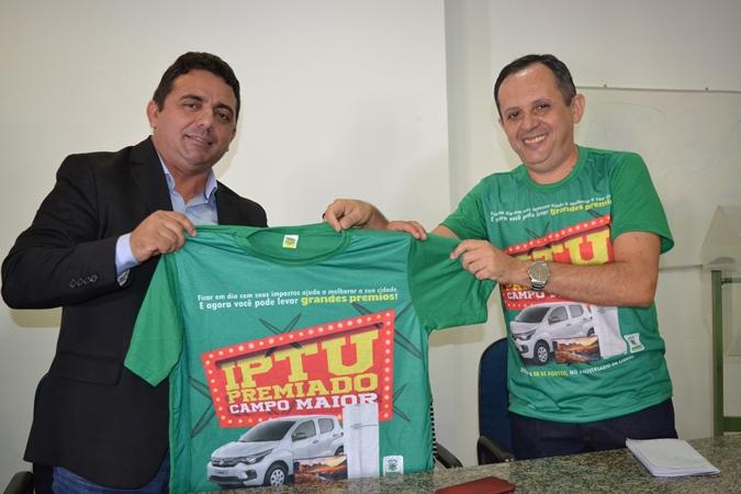 Prefeitura de Campo Maior realizara o sorteio do IPTU Premiado no dia 29|10