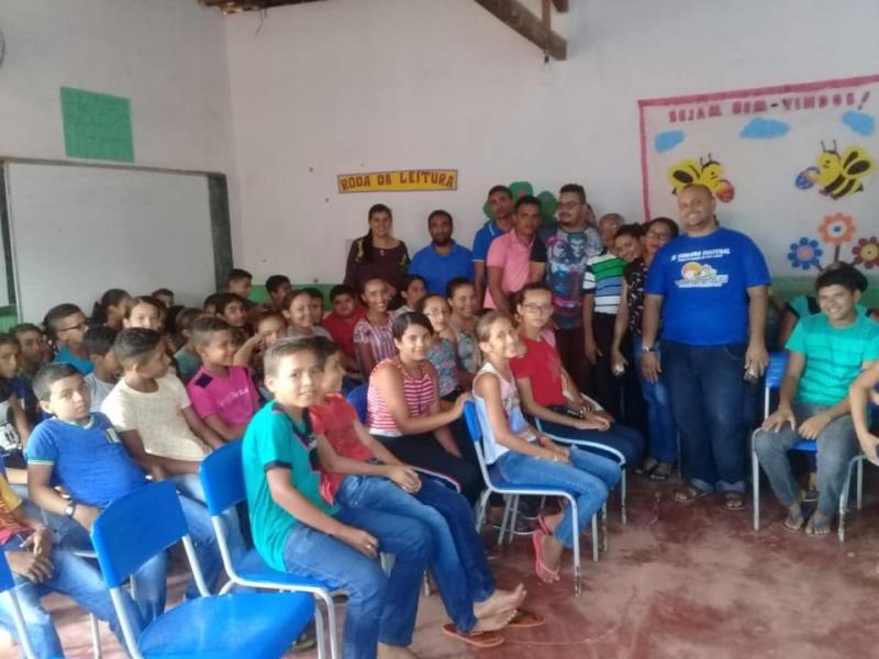 Prefeitura Municipal de Pau D'arco promove palestra sobre drogas