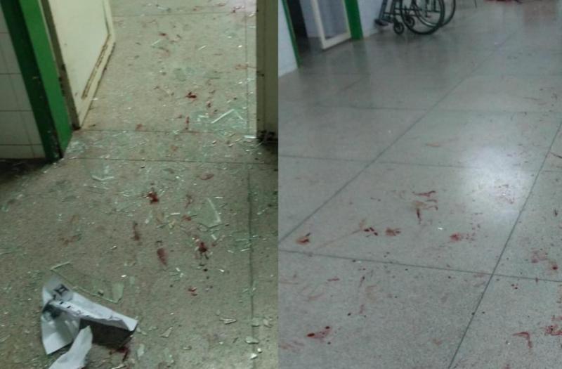 Bandido quebra hospital após assalto frustrado no Piauí