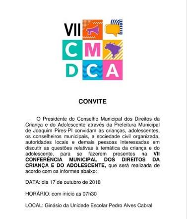 Prefeitura realiza VII Conferência dos direitos da criança e do adolescente