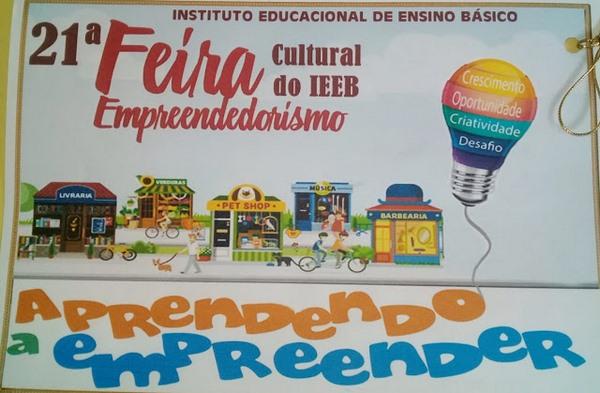 IEEB realizará sua 21ª Feira Cultural nos dias 19 e 20 de Outubro