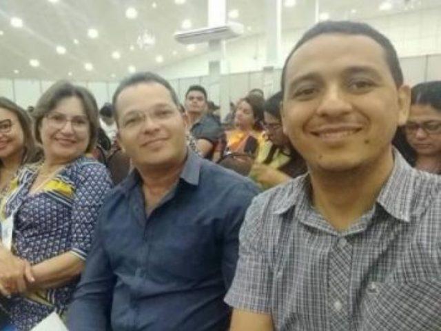 Secretário de educação de Lagoinha, marca presença no Conae/2018