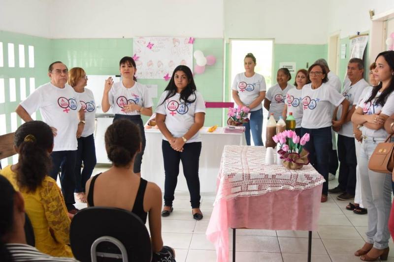 Unidades Básicas de Saúde recebem ações do Outubro Rosa