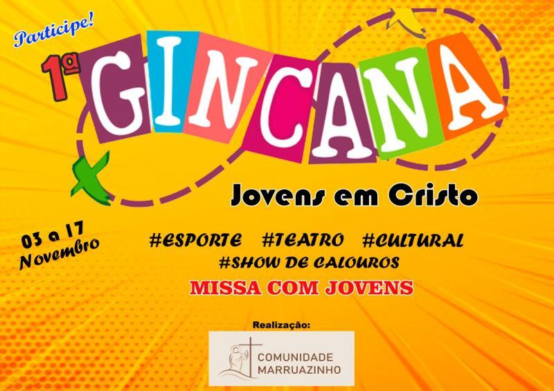Comunidade Marruazinho realizará I Gincana cultural de 03 a 17 de novembro
