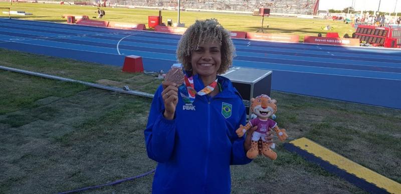 Piauiense conquista medalha de bronze nos jogos olímpicos da Juventude