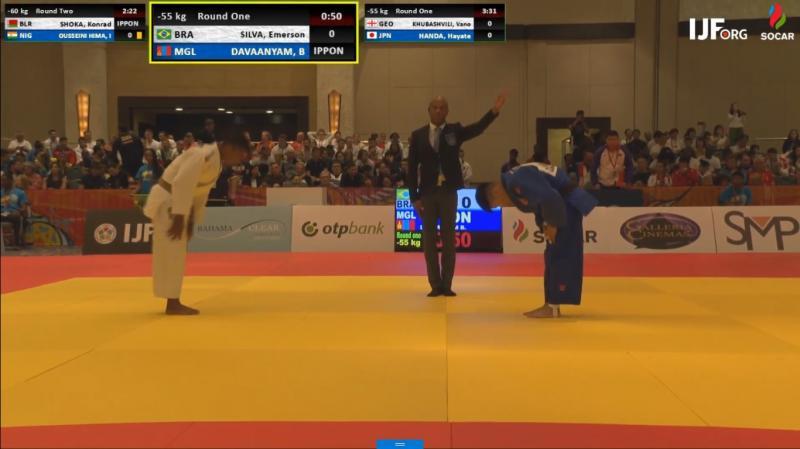 Judoca piauiense é eliminado em sua estreia no Mundial Júnior