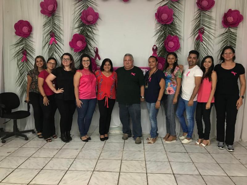 Prefeitura de Lagoinha do Piauí realiza evento em alusão ao 'Outubro Rosa