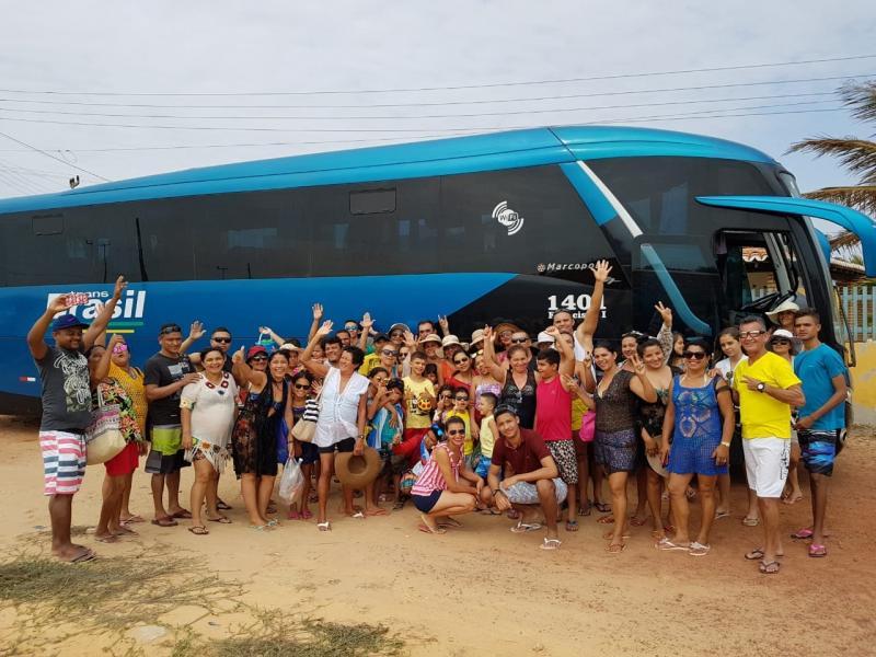Cícera Angélica e Maria Marques realizam excursão para Luís Correia