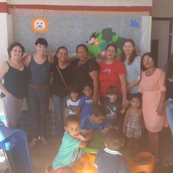 Dia das crianças é comemorado na creche Tia Cecy em Corrente