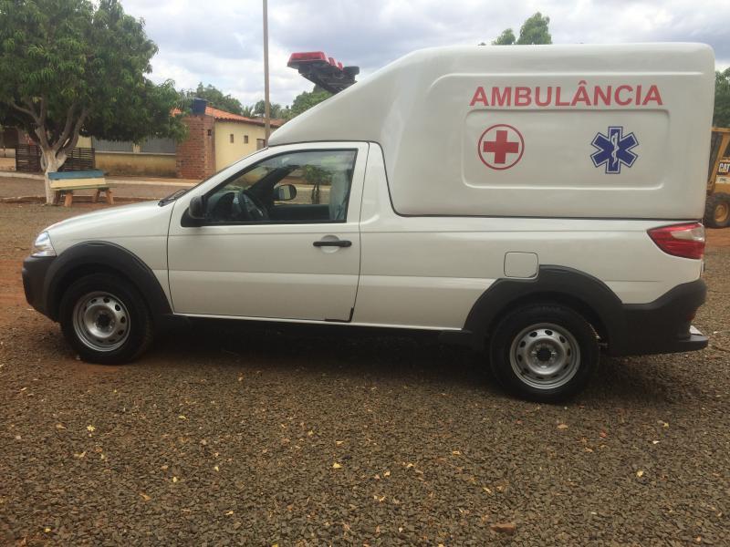 Secretaria de Saúde de Barra D'Alcântara Recebe Nova Ambulância