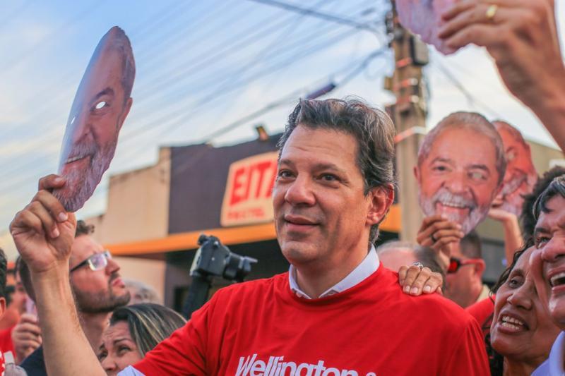 Haddad em Picos: petista vem ao Piauí em busca dos votos de Lula