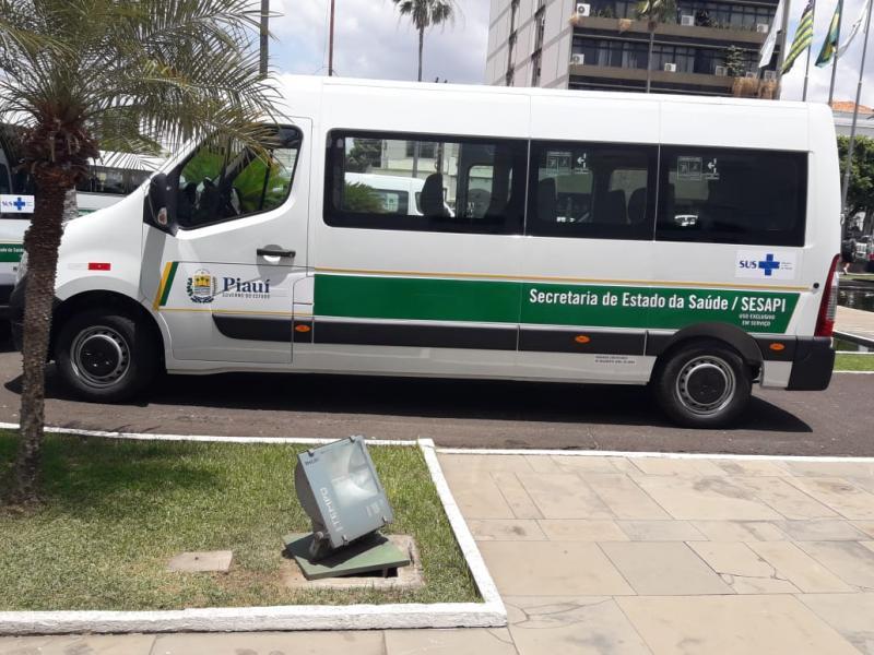 Municípios do Piauí recebem veículos para atenção básica