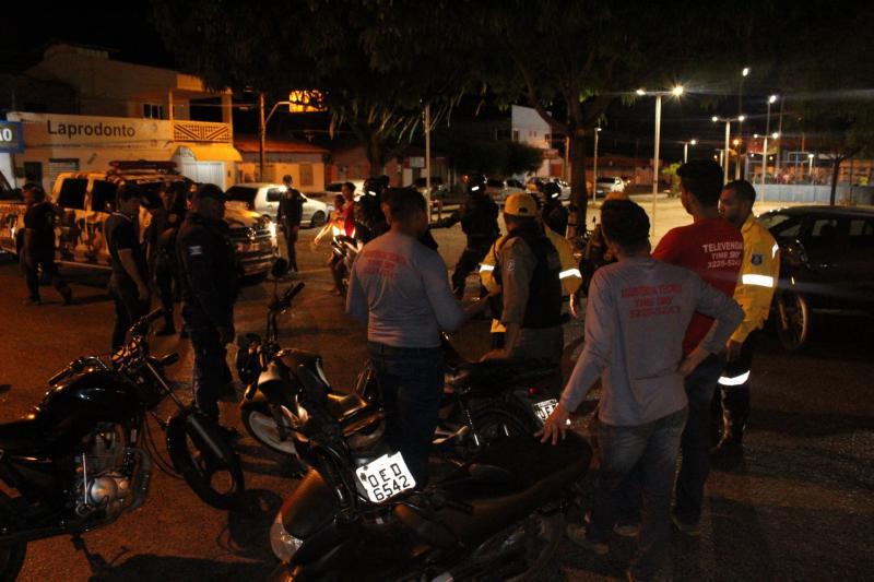 Blitz suspende festa irregular na zona norte de Teresina