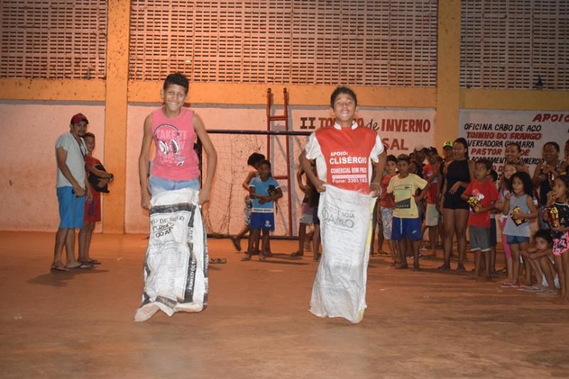 Luzilândia: KI-bixiga realiza projeto social Criança Feliz no Palmares