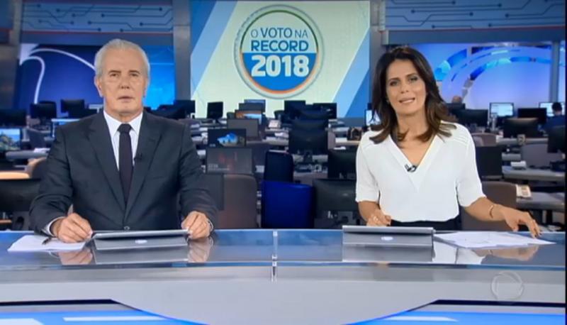 Sem Bolsonaro, Record cancela debate com candidatos a presidência