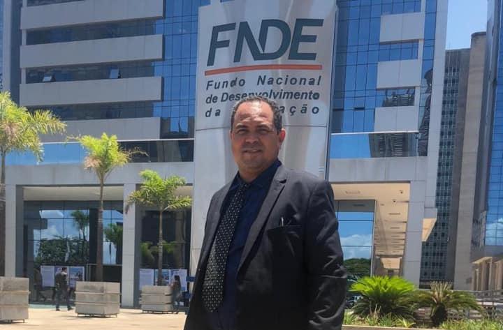 Prefeito Nilton Bacelar está em Brasília em busca de recursos