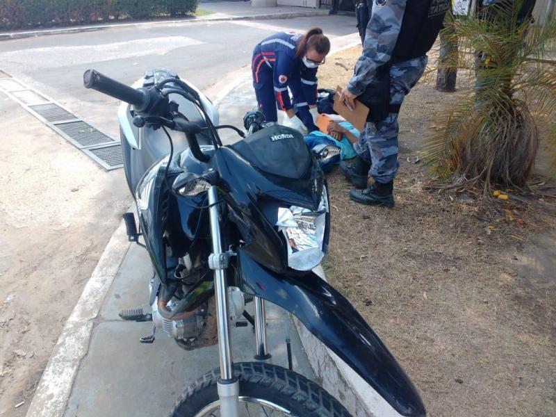 Bandido sofre fratura exposta ao fugir da polícia em Teresina