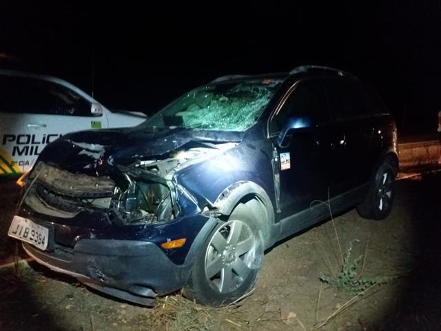 Duas pessoas ficam feridas após acidente no interior do Piauí