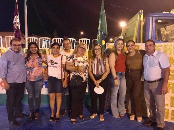 Prefeita Neidinha Lima e Vice-Prefeito Edivan Miranda prestigiaram XXI Feir