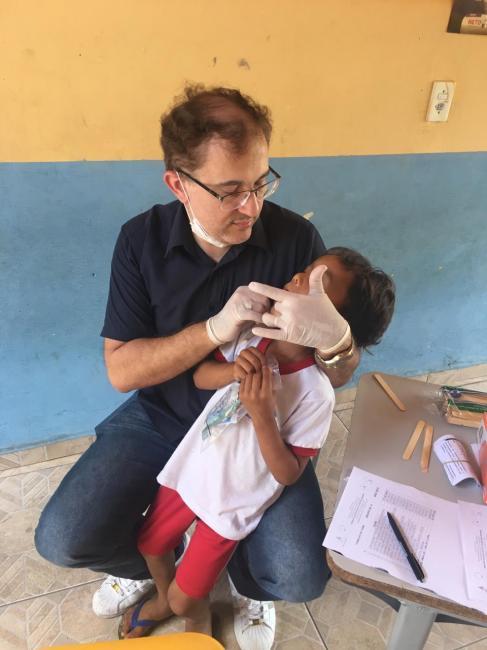 Profissionais da Saúde realizam atividades em Creche