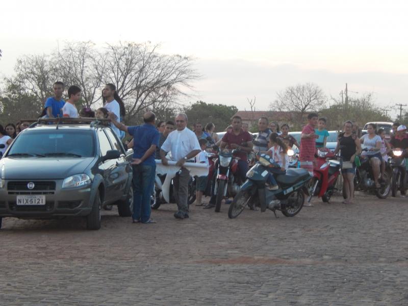 Paróquia de São Bendito realiza tradicional Passeata dos Motoqueiros