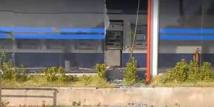 Bandidos explodem agência da Caixa Econômica Federal em Teresina
