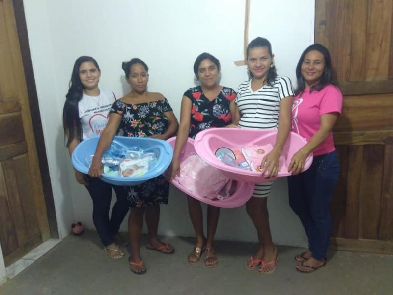 Secretaria de Assistência Social realiza entrega de enxoval para gestantes