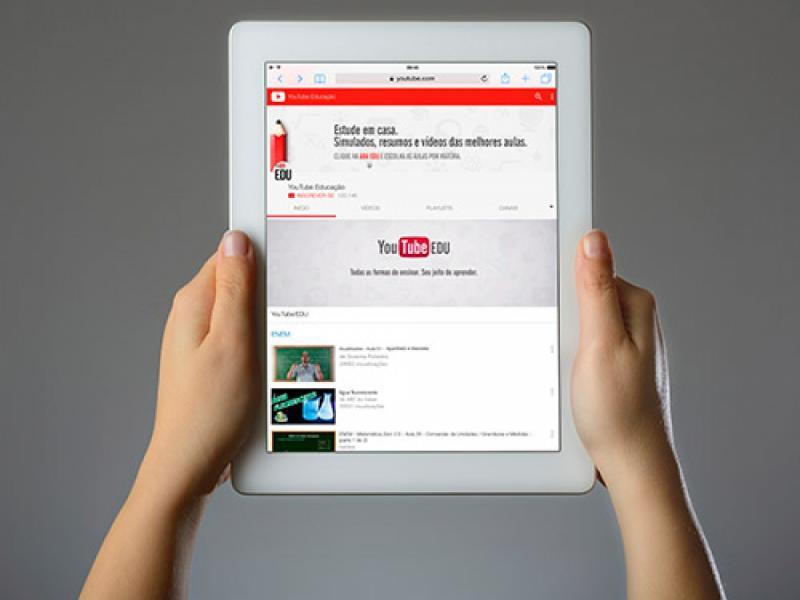 YouTube fará transmissão ao vivo de aulão para o Enem 2018