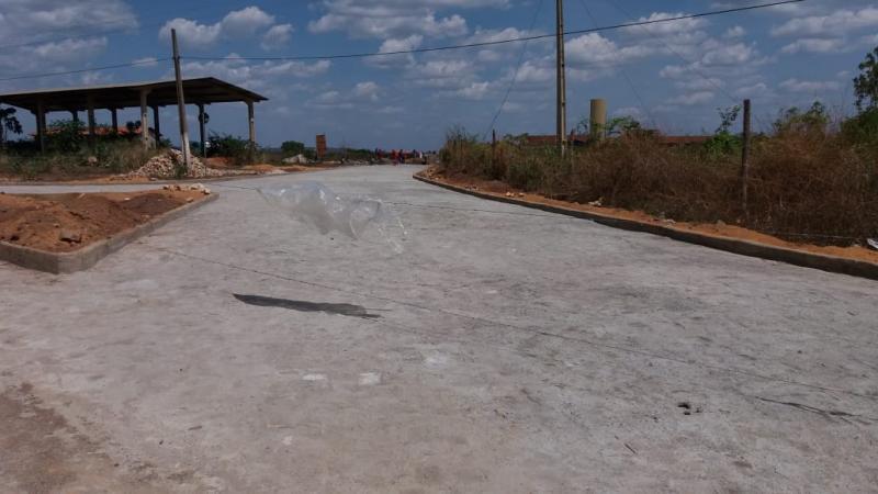 PMA conclui a obra de pavimentação do Residencial Novo Horizonte