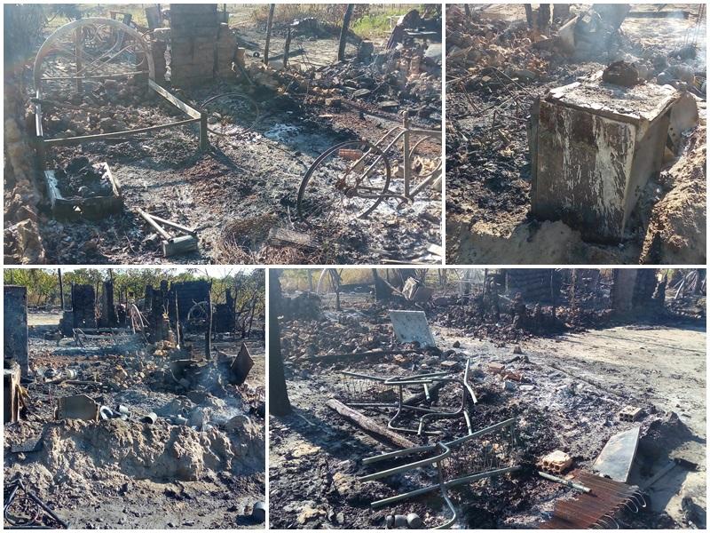 Criminosos ateiam fogo em casas no interior do Piauí