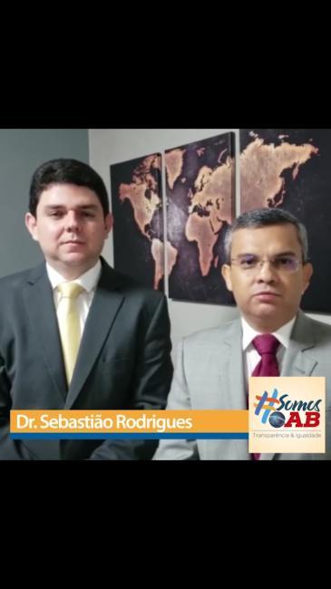 Advogado e professor Sebastião Jr declara apoio a Carlos Henrique