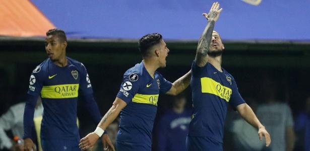 Palmeiras toma dois gols e perde para o Boca na Argentina