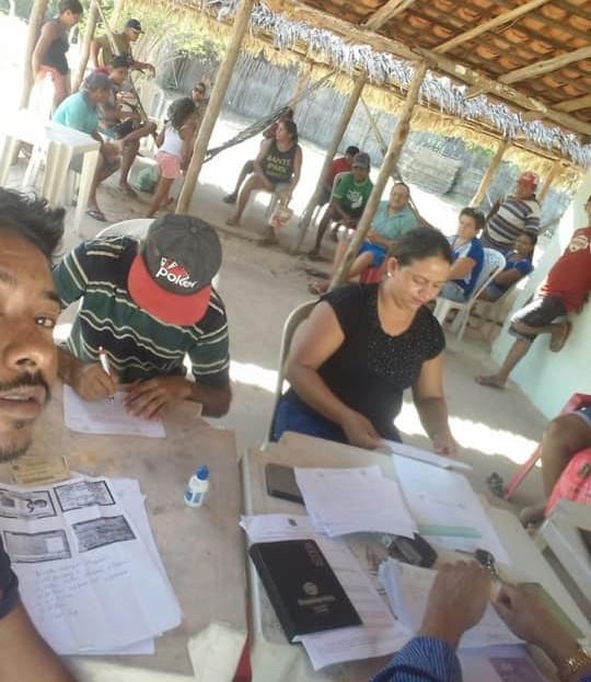 Representantes da Prefeitura visitaram comunidades do município