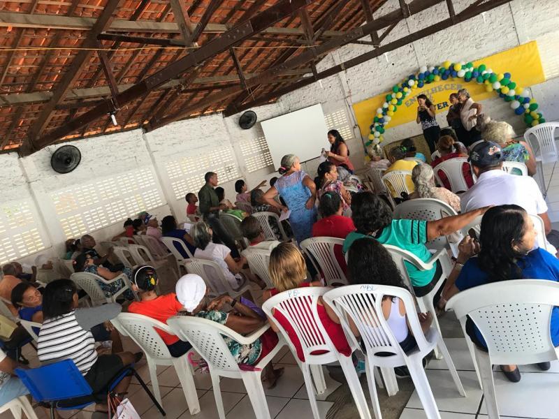 CRAS realiza comemoração pelo dia do idoso em São Pedro do Piauí