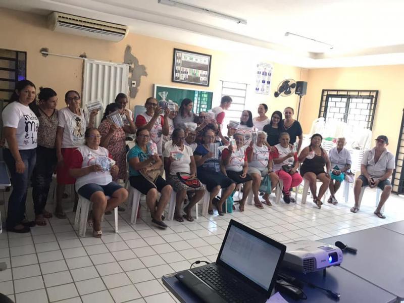 Secretaria Social realiza roda de conversa sobre o dia do Idoso