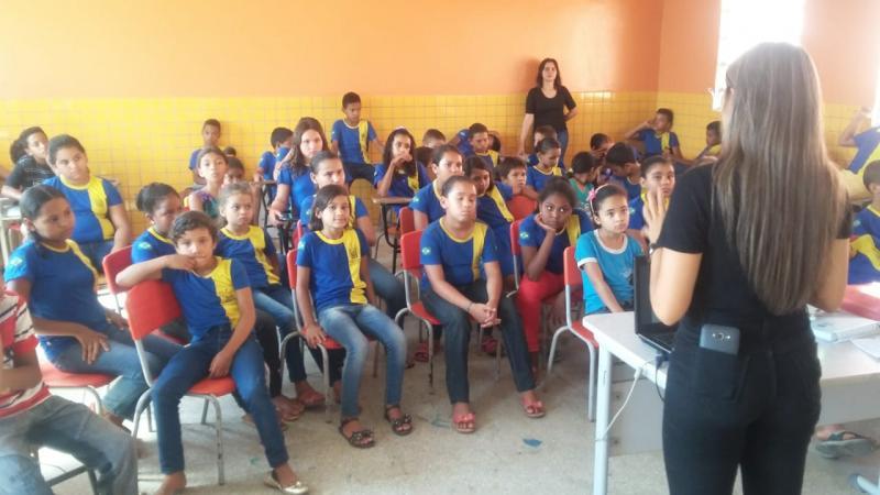 NASF e ESF realizam ação em escola da zona rural de São Pedro do Piauí