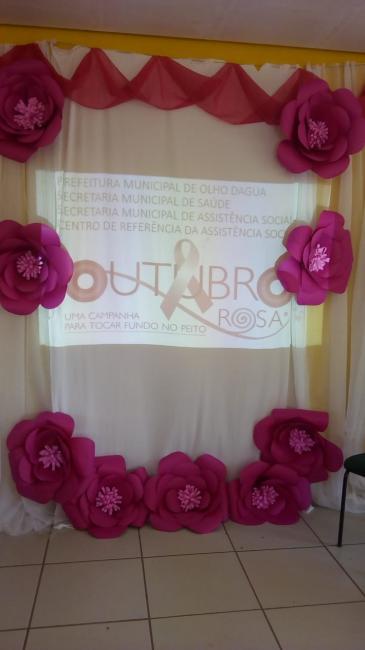 Olho D'água do Piauí na Campanha Outubro Rosa