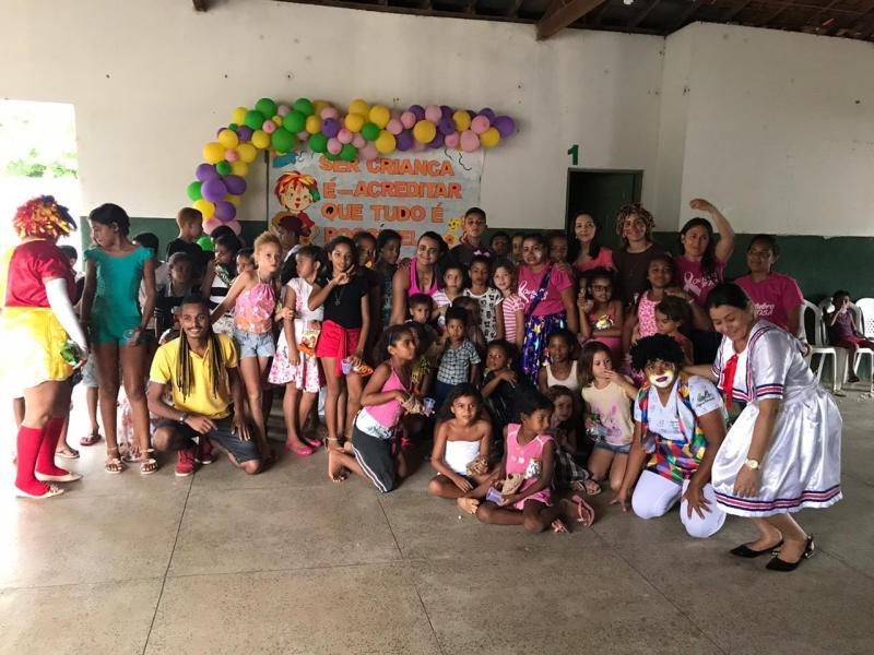 Secretaria de Assistência Social faz grande festa em homenagem às crianças