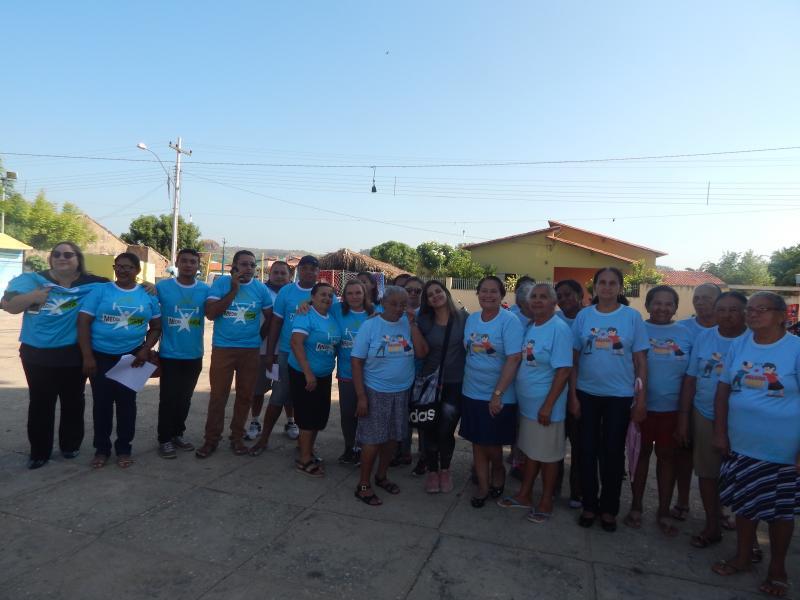 Secretaria Municipal de Saúde realiza atividades no seu dia nos festejos