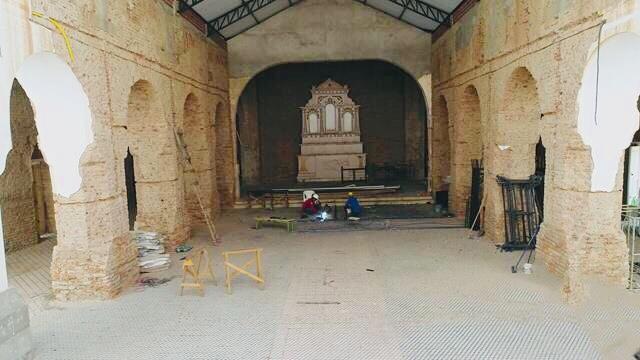 Reforma da igreja Matriz de Valença entra na fase de demolição