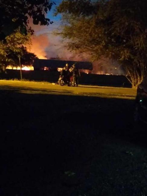 Incêndio atinge vegetação da UESPI em Teresina