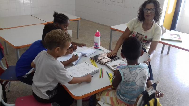 SEMEC desenvolve  Projeto Brincar, Ler e Escrever na Corrente do Saber