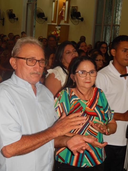 Monsenhor  Edvandro celebra nos Festejos de Beneditinos 27/10