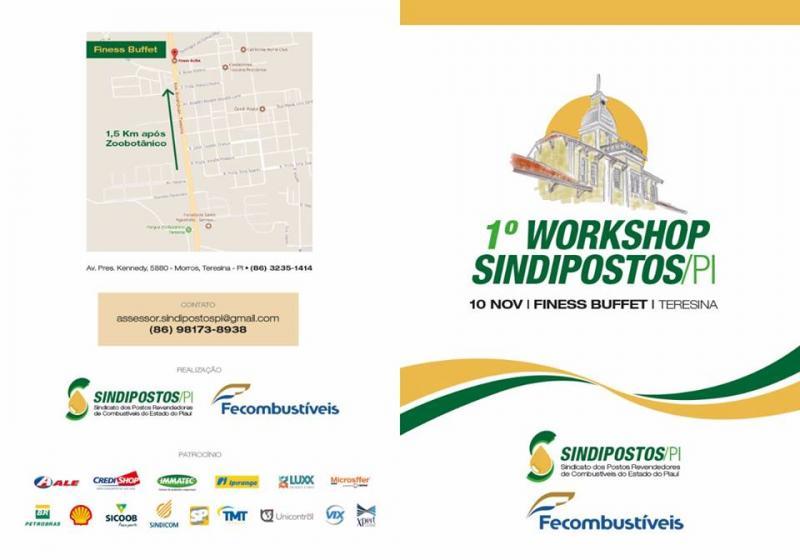 SINDIPOSTOS-PI realiza 1º workshop dos postos revendedores de combustíveis do estado