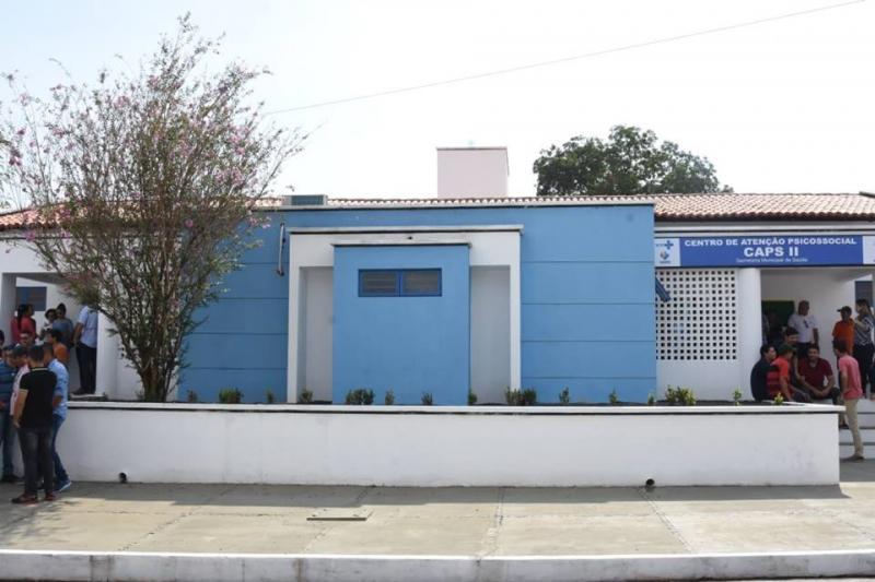 Prefeitura de Floriano entrega obra de reforma do CAPS II