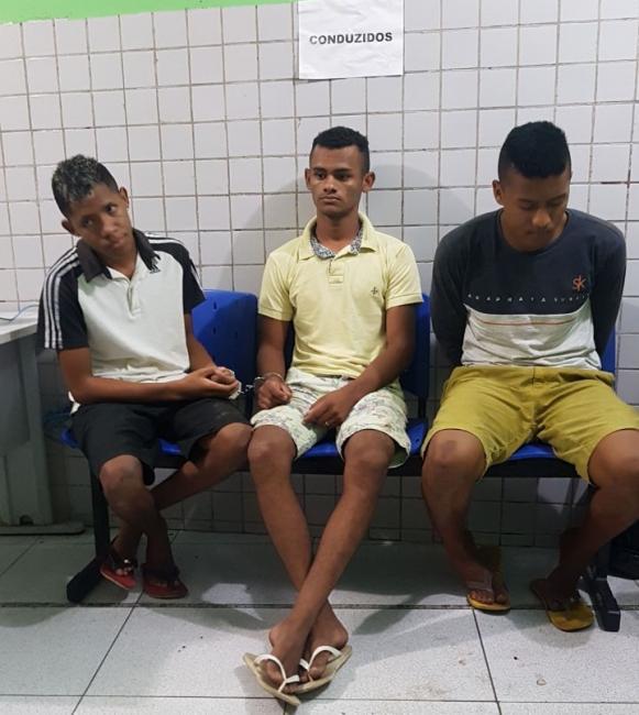 PM prende trio após arrastão em residência em Teresina