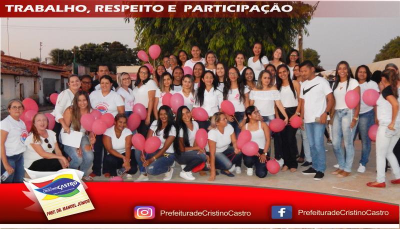 Caminhada lembra importância da prevenção ao câncer de mama