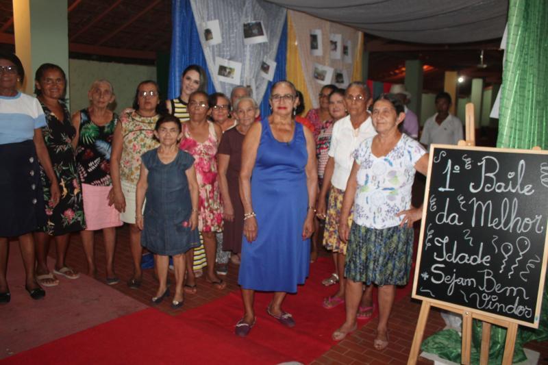 CRAS e SAÚDE Municipal realizam 1ª Festa para o Idoso em Coivaras