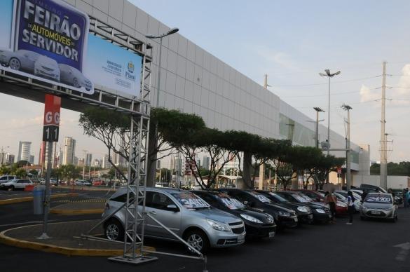Feirão de Automóveis do Servidor Público do PI começa na próxima segunda
